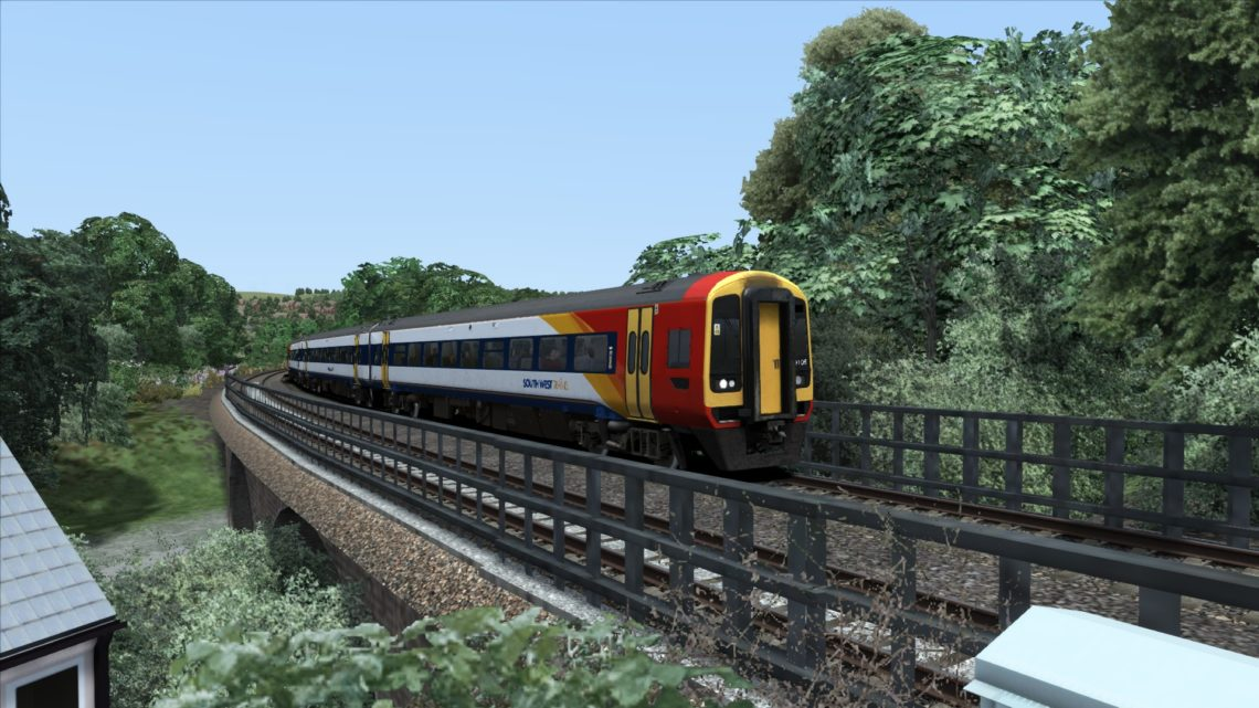 1L56 1425 Exeter St Davids to London Waterloo
