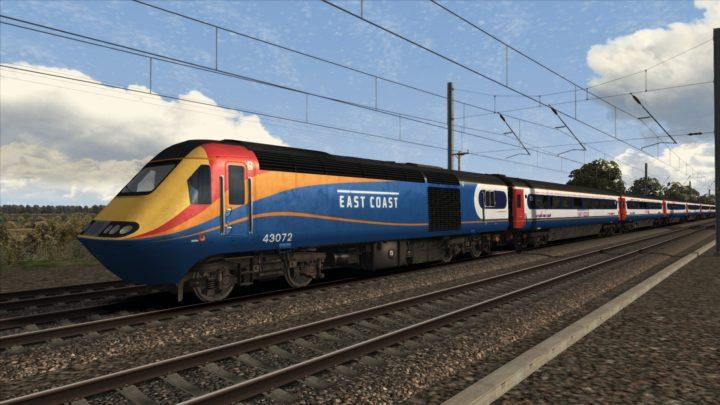 HST: East Coast Ex East Midlands Trains
