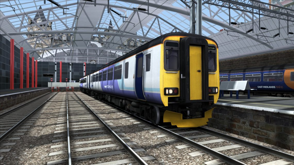 Class 156 Northern Rail White Lilac