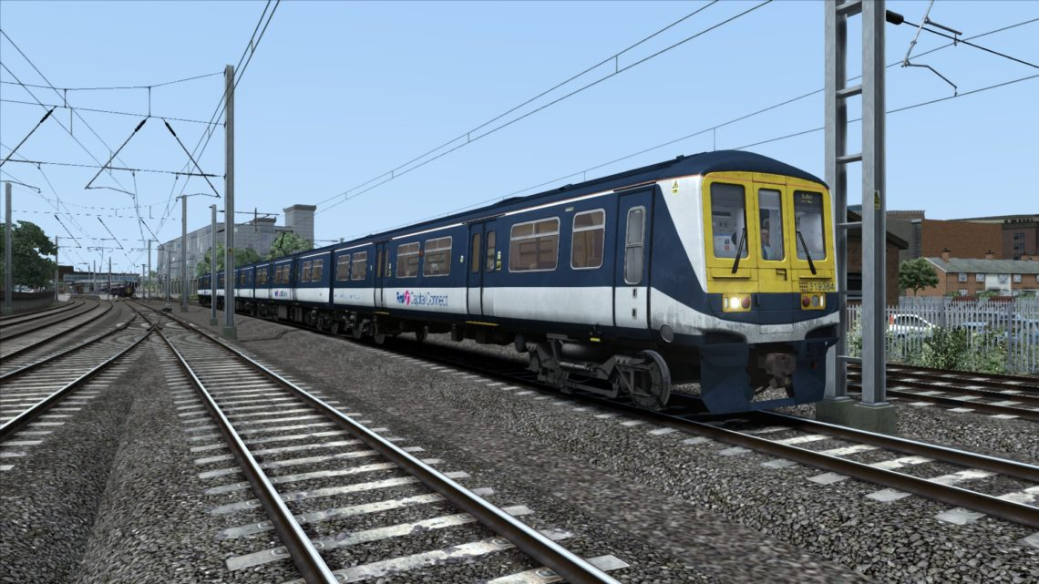 Class 319 First Capital Connect Ex Thameslink Blue Yellow