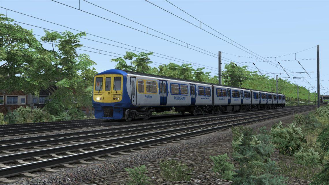 Class 319 Thameslink Blue Silver