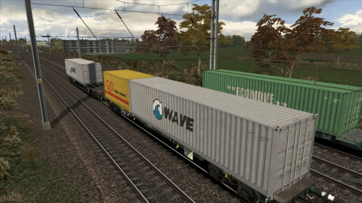 Container Flat Physics