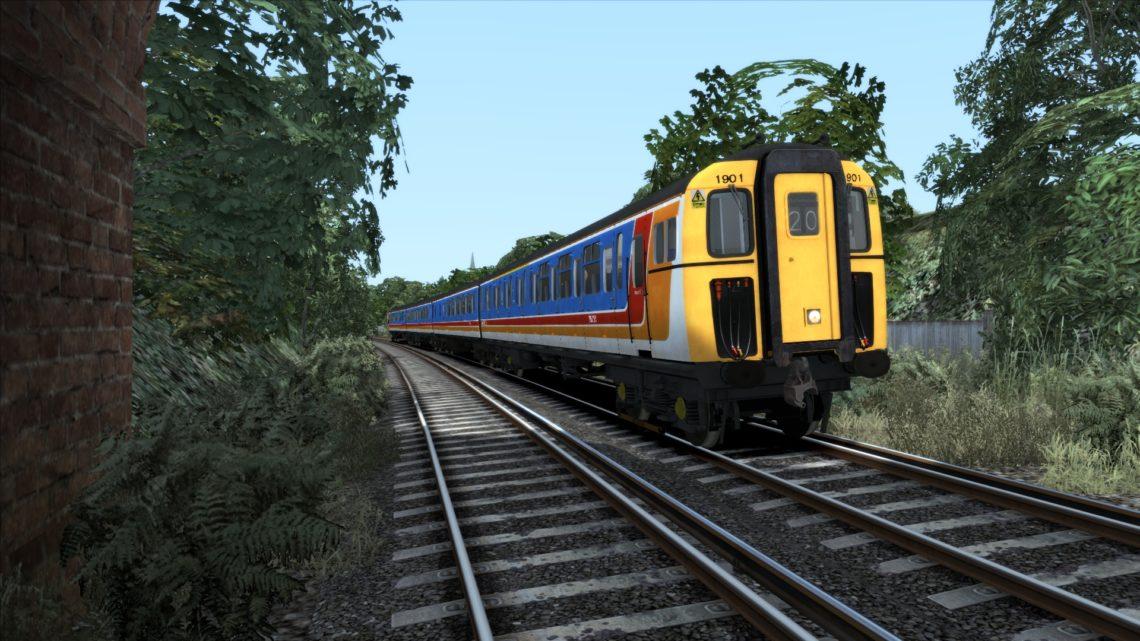 Class 421 South West Trains