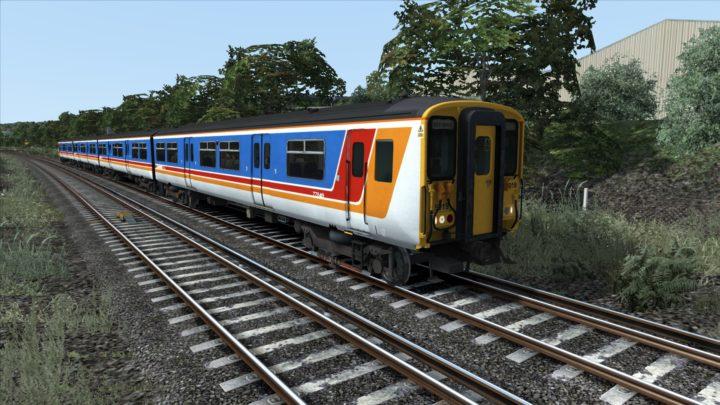Class 455 South West Trains Stripes