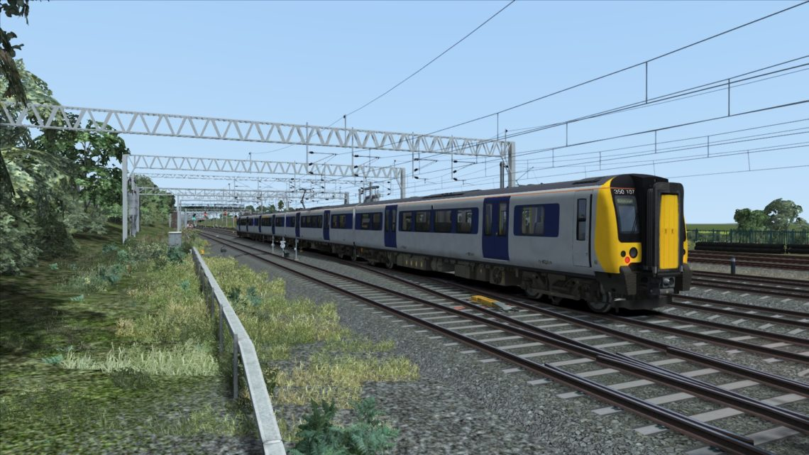 Class 350 Silverlink Central Trains