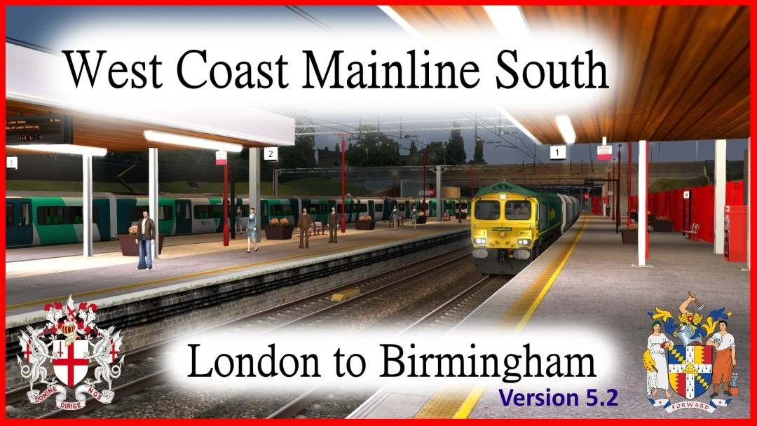 West Coast Mainline South (v5.2)