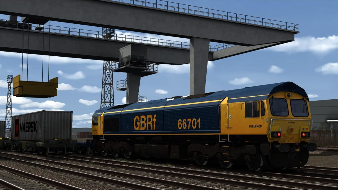 Class 66 GB Railfreight Revised Old Livery 66701