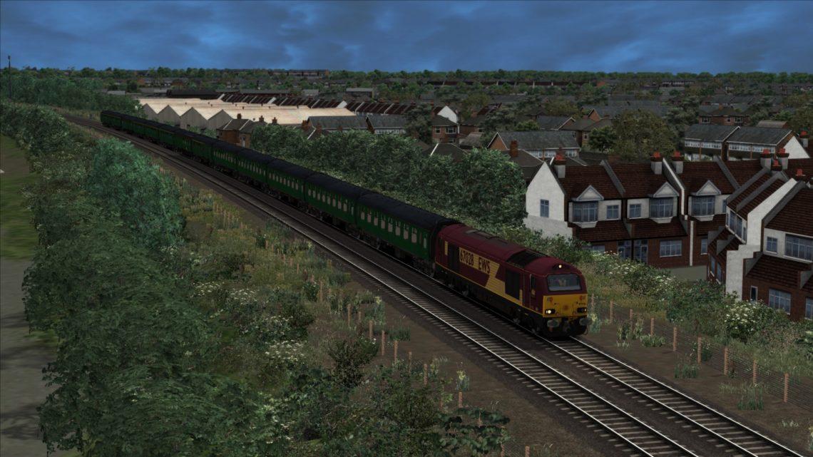 "1Z36 08.03 London Euston – Holyhead ""North Wales Coast Merrymaker"" (2001)"