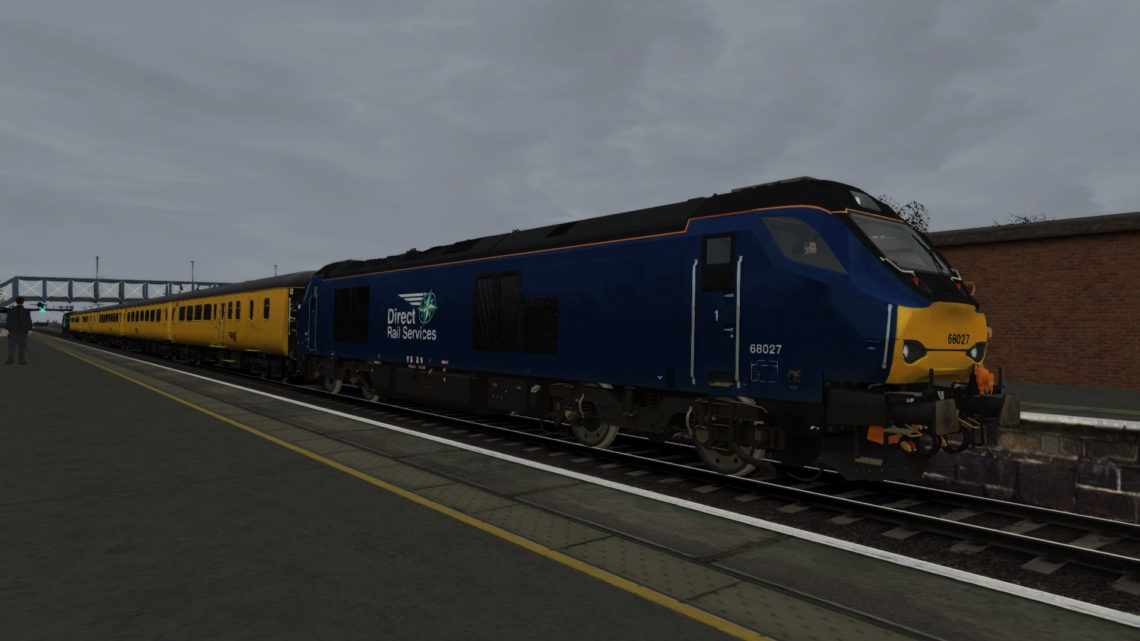 1Z20 0453 Reading Triangle Sidings – Derby R.T.C (Bristol Parkway to Swansea)