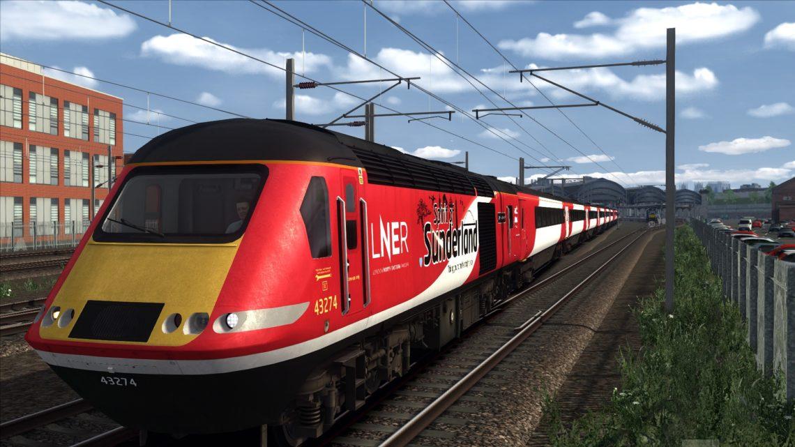 1E02 (LNER) Edinburgh to London Kings Cross