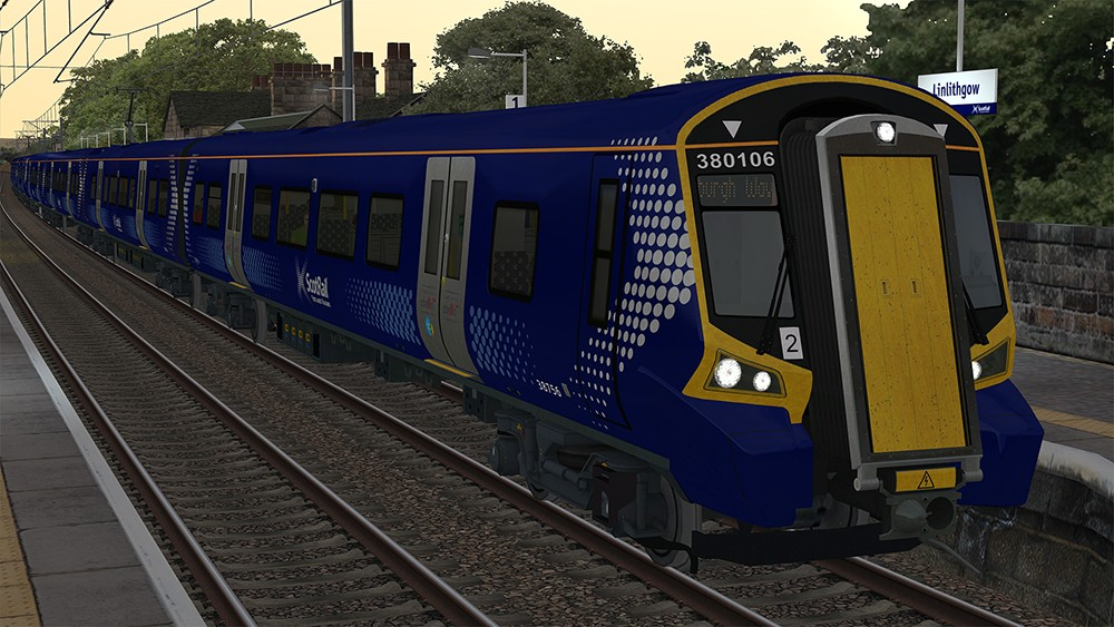 Class 380 ScotRail Destinations Update