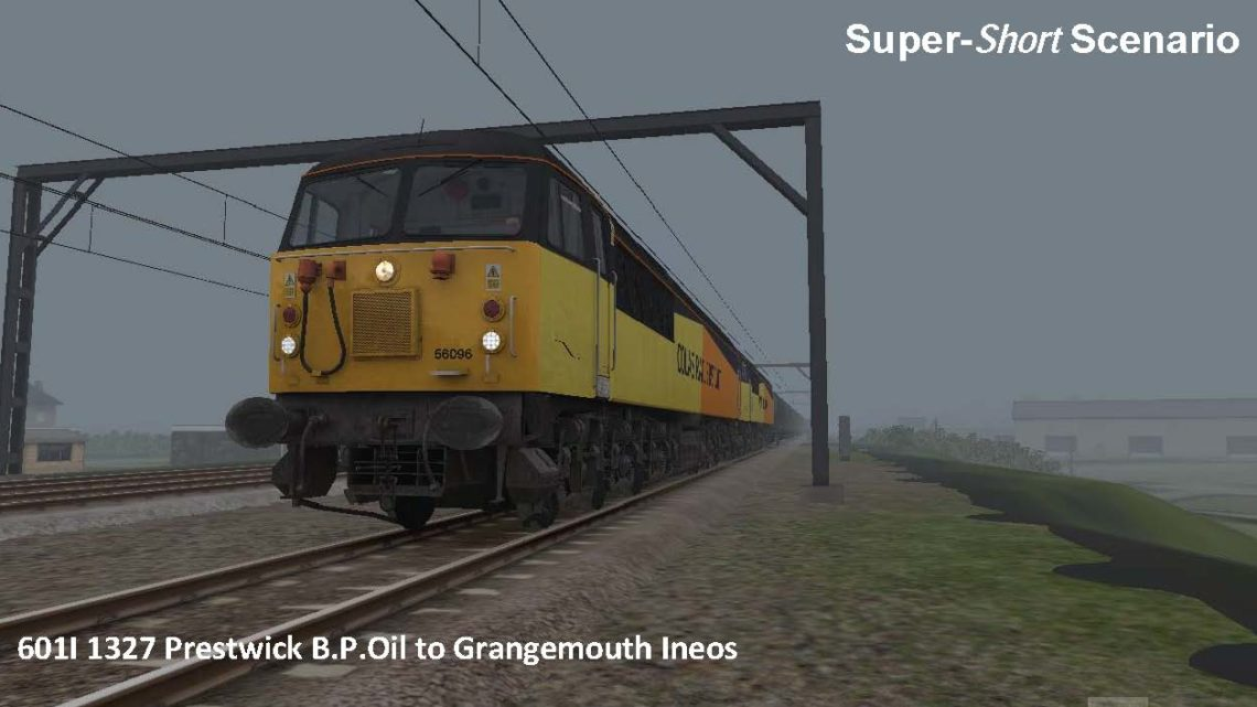 601I 1327 Prestwick B.P.Oil to Grangemouth Ineos