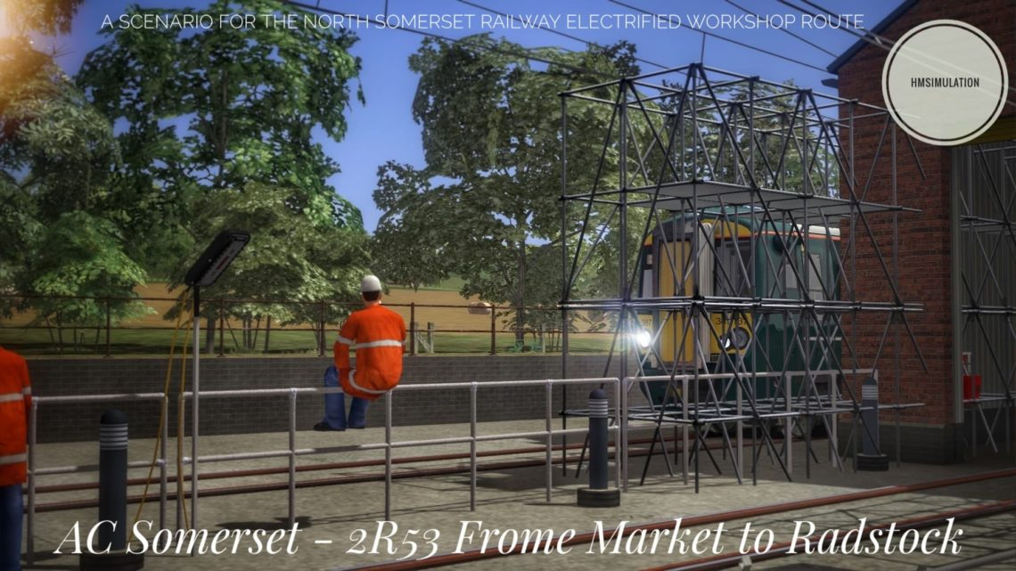 [HMSimulation] AC Somerset | 2R53 Frome Market to Radstock