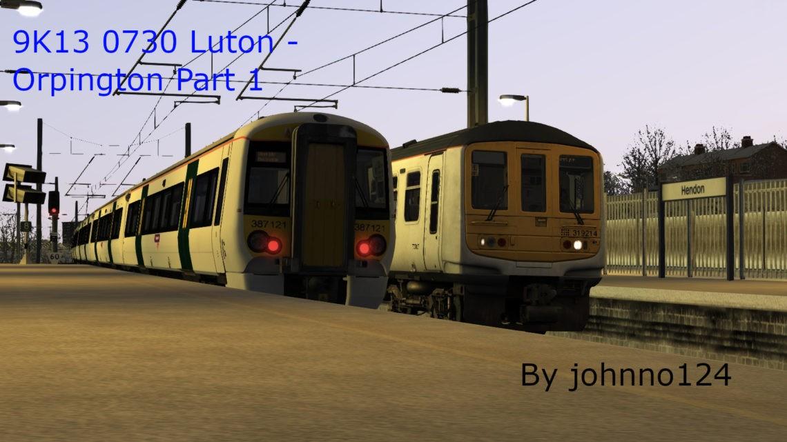 9K13 0730 Luton – Orpington Part 1