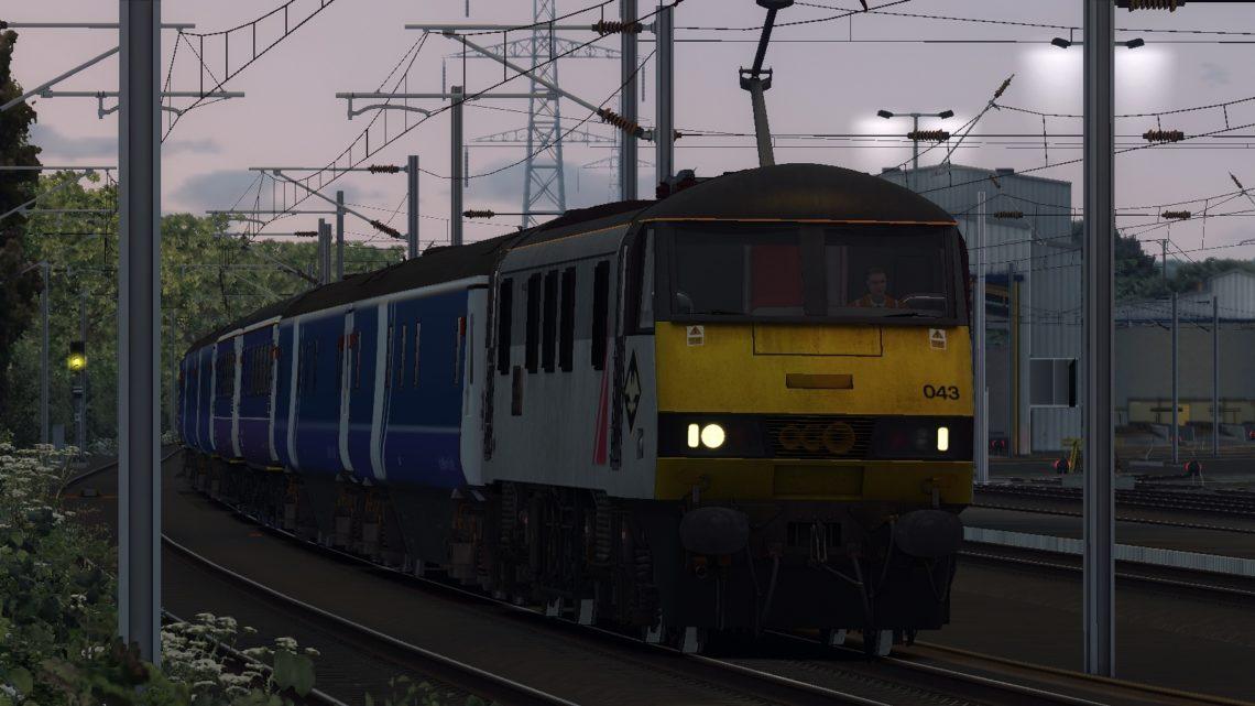 1S26 London KGX to Edinburgh (&Glasgow) V1