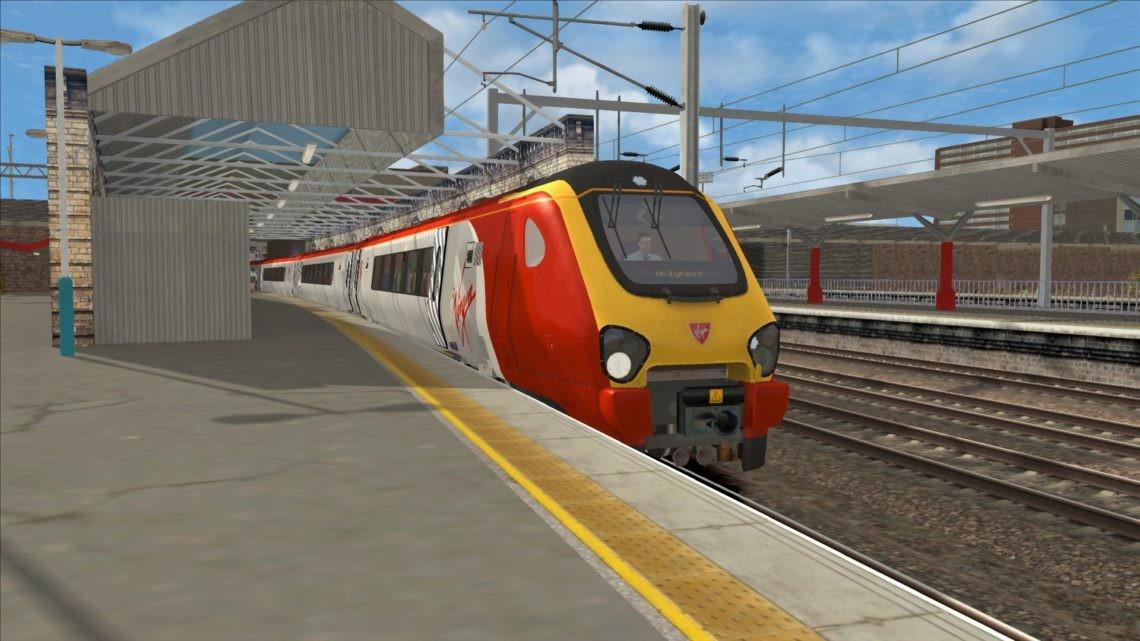 1D83 0910 London Euston to Holyhead