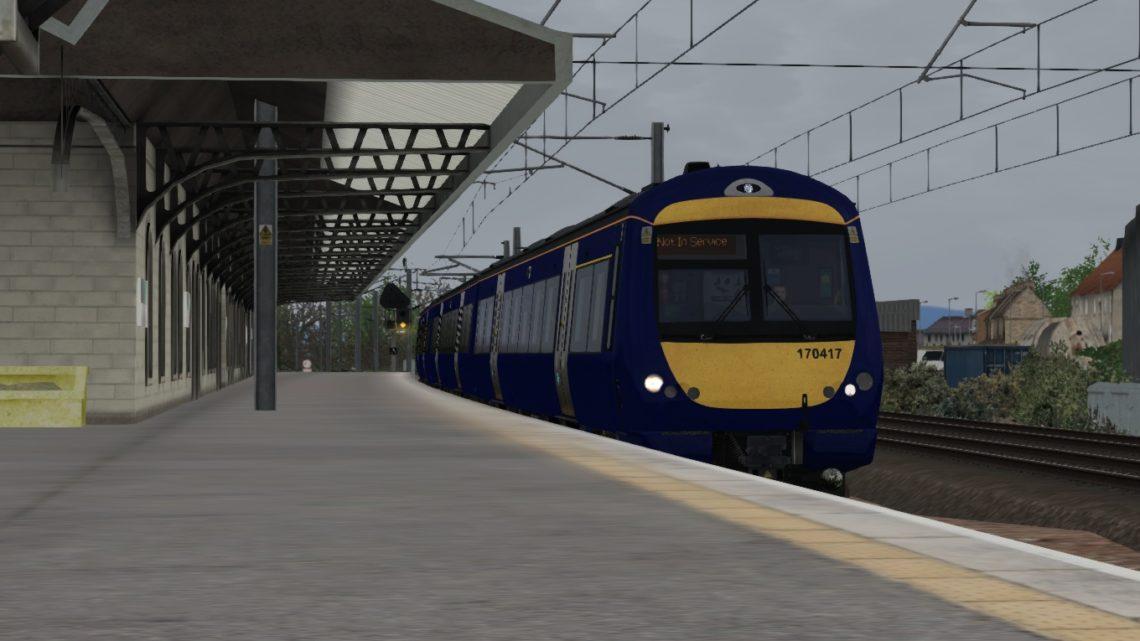 5Z70 1248 Kilmarnock Depot – Haymarket Depot – Class 170