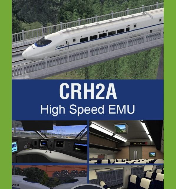 Just Trains CRH2A High Speed EMU