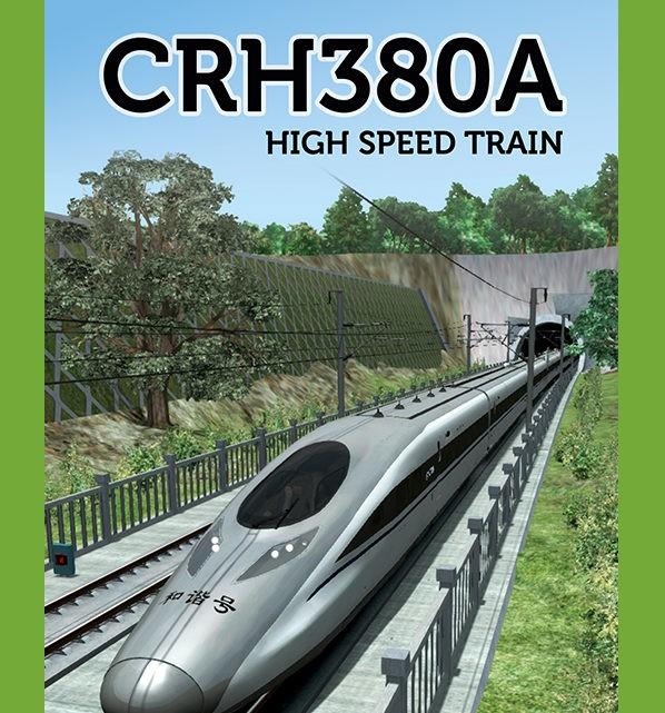 Just Trains CRH380A High Speed Train