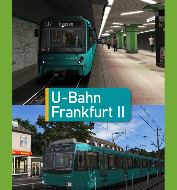 Just Trains U-Bahn Frankfurt II