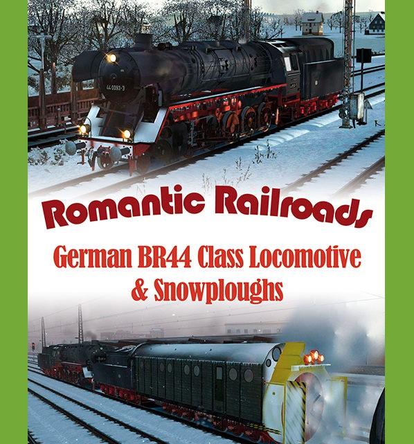 Just Trains Romantic Railroads – German BR 44 Class Locomotive & Snowploughs
