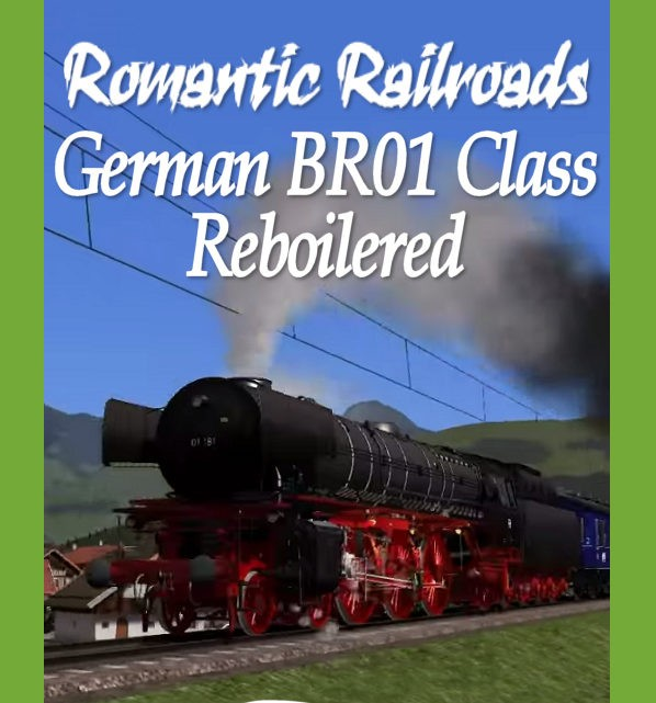 Just Trains Romantic Railroads German BR 01 Class Reboilered