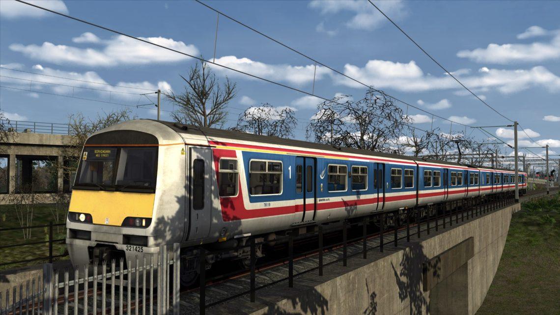 Ex-Network SouthEast Class 321/4