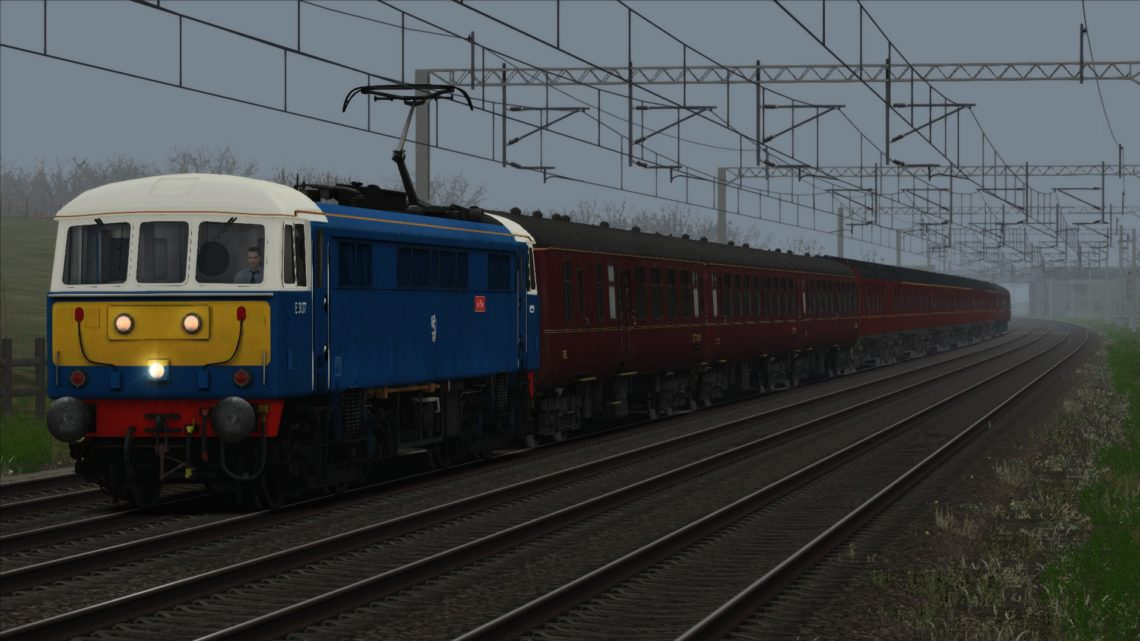 "1Z86 07.10 London Euston – Carlisle ""Winter Cumbrian Mountain Express"" (2019) v1.1"