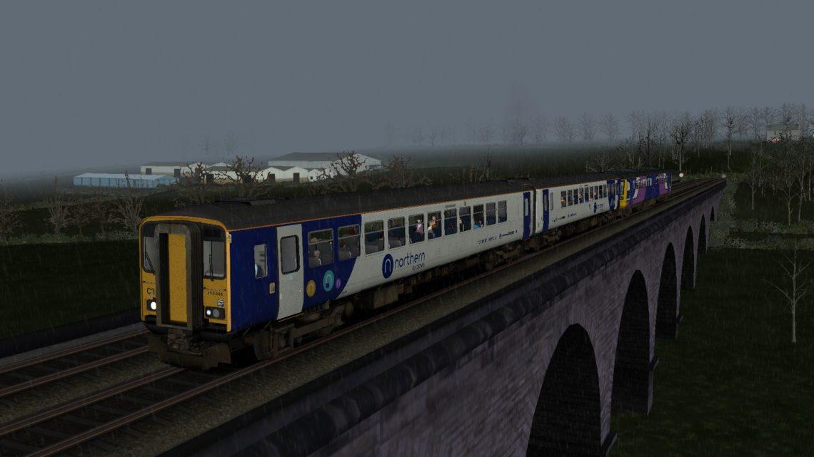 2C56 Leeds to York (Northern 155)