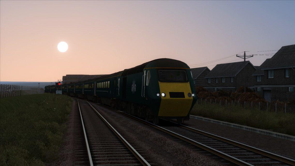 1A35 1742 Penzance to London Paddington