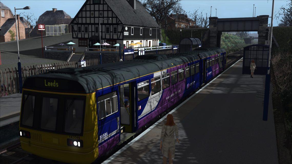 All aboard the Nodding Donkey(2C19 Northern Class 142 York to Leeds via Harrogate)