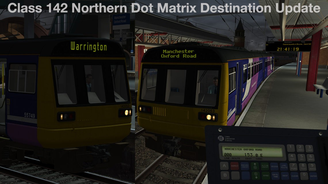 Class 142 Northern Dot Matrix Destinations