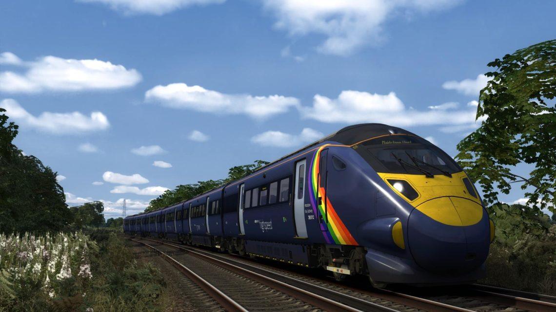 Class 395 #trainbow