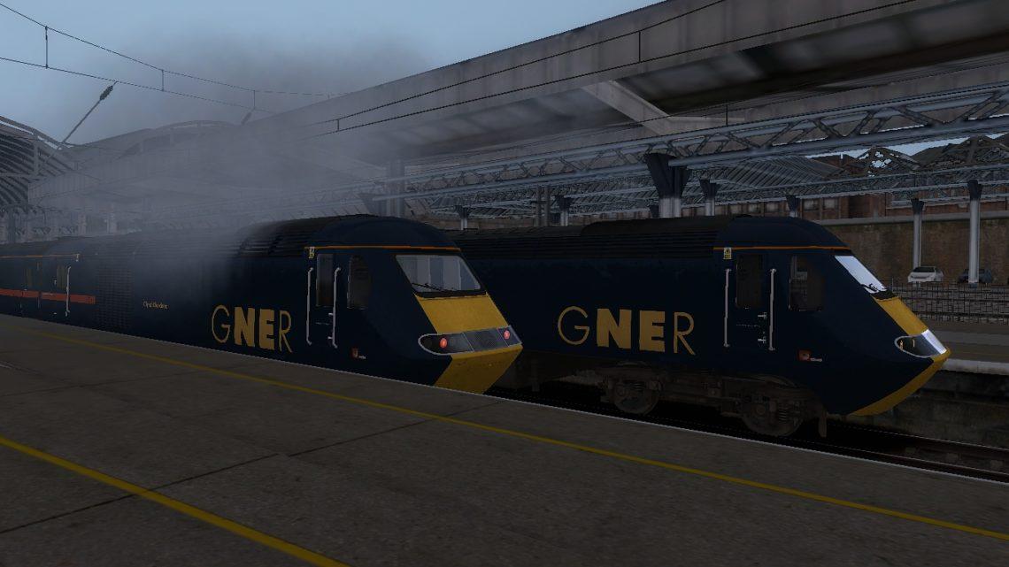 1S11 1000 London Kings Cross to Aberdeen