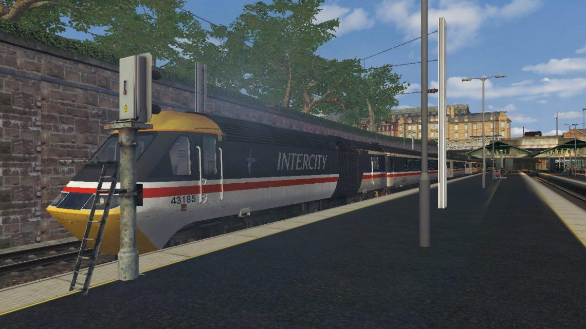 1S20 1400 London Kings Cross to Aberdeen