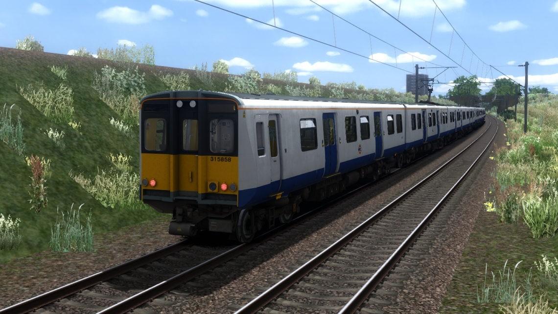 Class 315 Ex-TfL Rail LO Livery