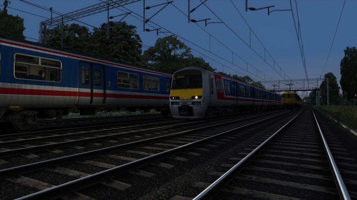 2N27: 2054 London Euston to Northampton (1993)