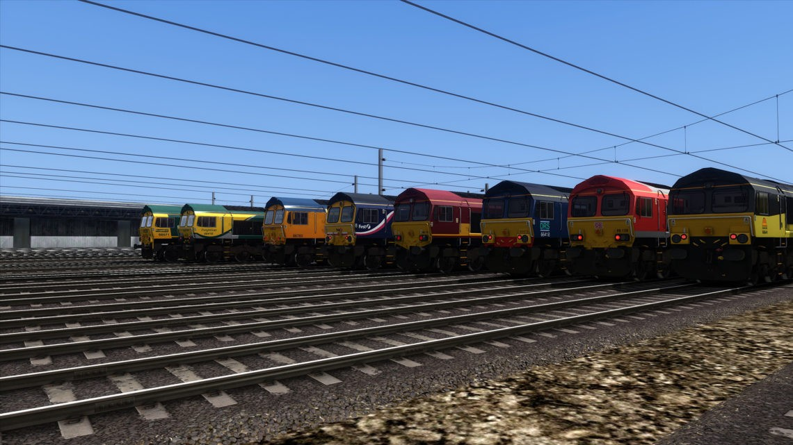 Class 66 (No Driver Pack)