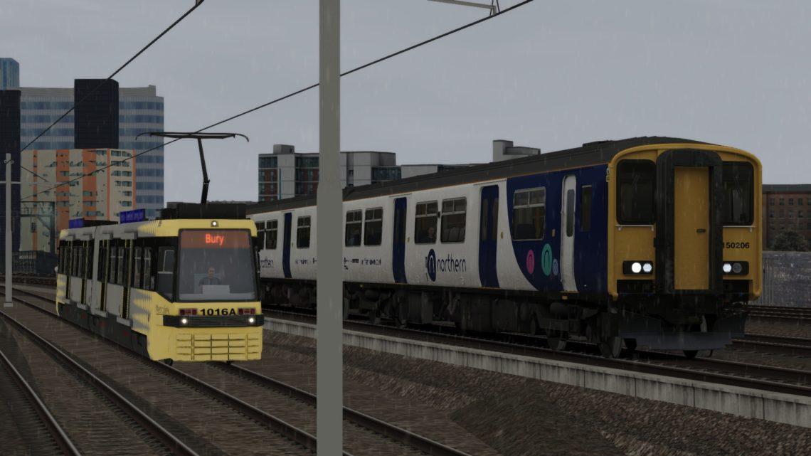 2W48 1605 Manchester Victoria to Staylybridge