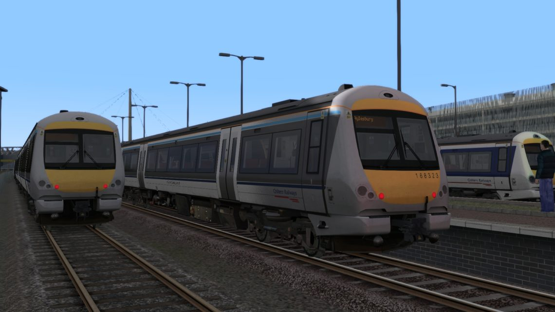 2A46 1702 Princes Risborough to Aylesbury (Chiltern Railways)