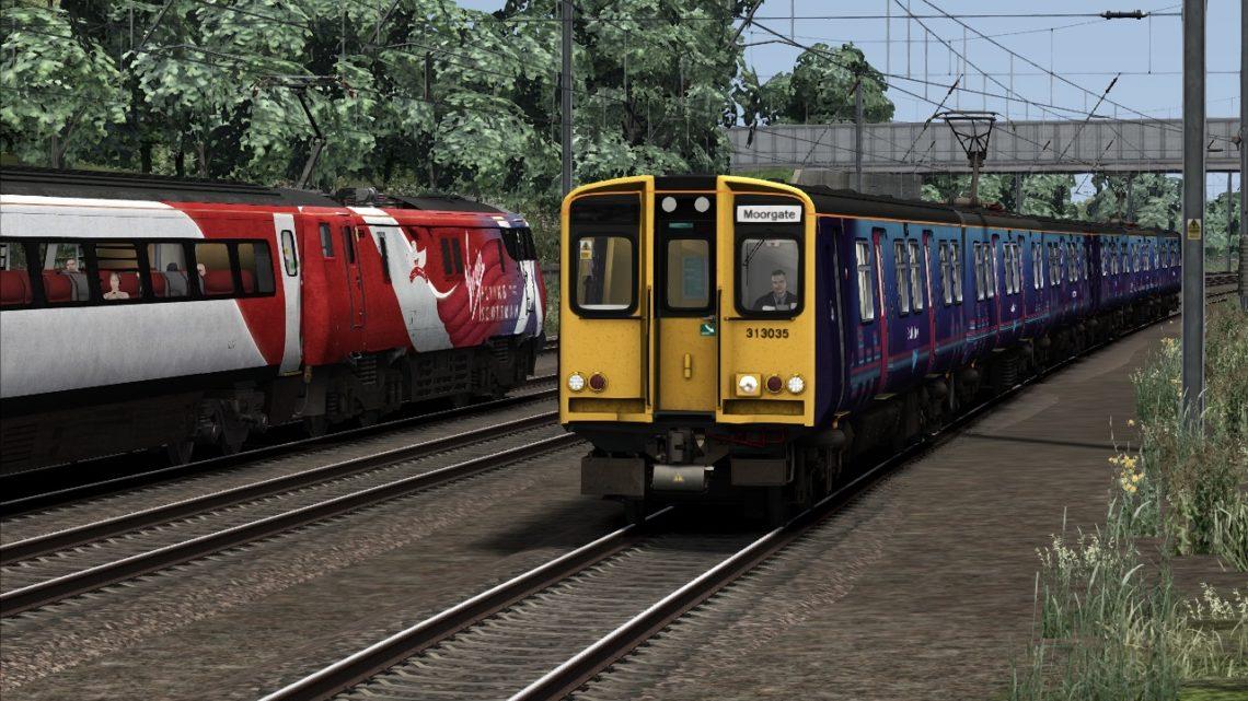 2K56 – 10:28 Welwyn Garden City to Moorgate