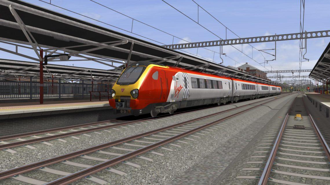 1D86 1210 London Euston to Chester