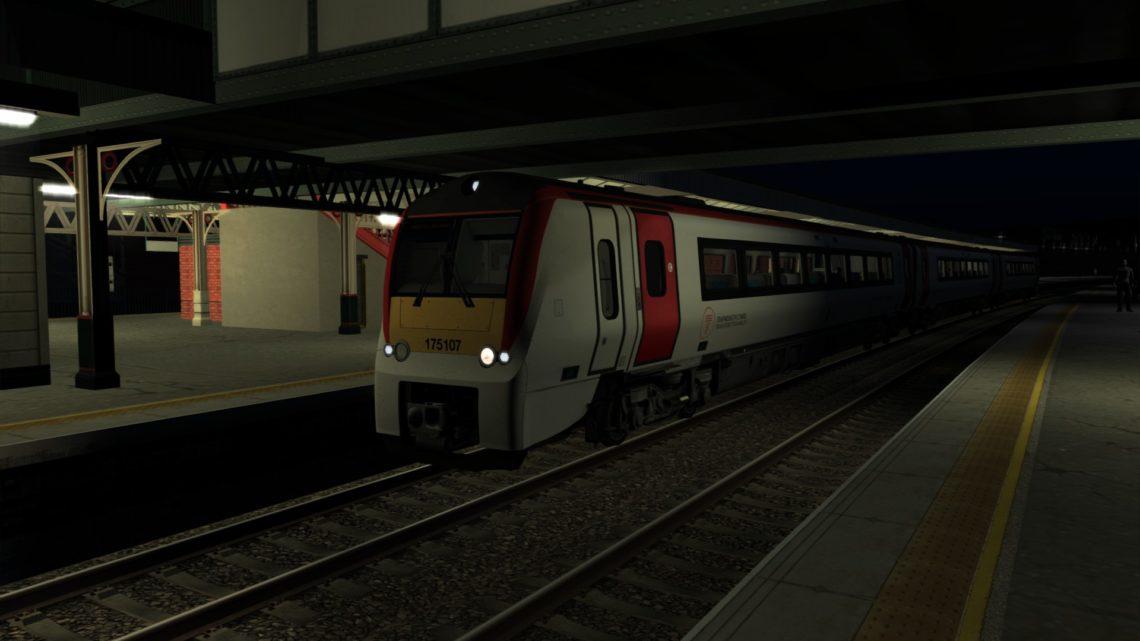 1D41 2136 Crewe to Holyhead