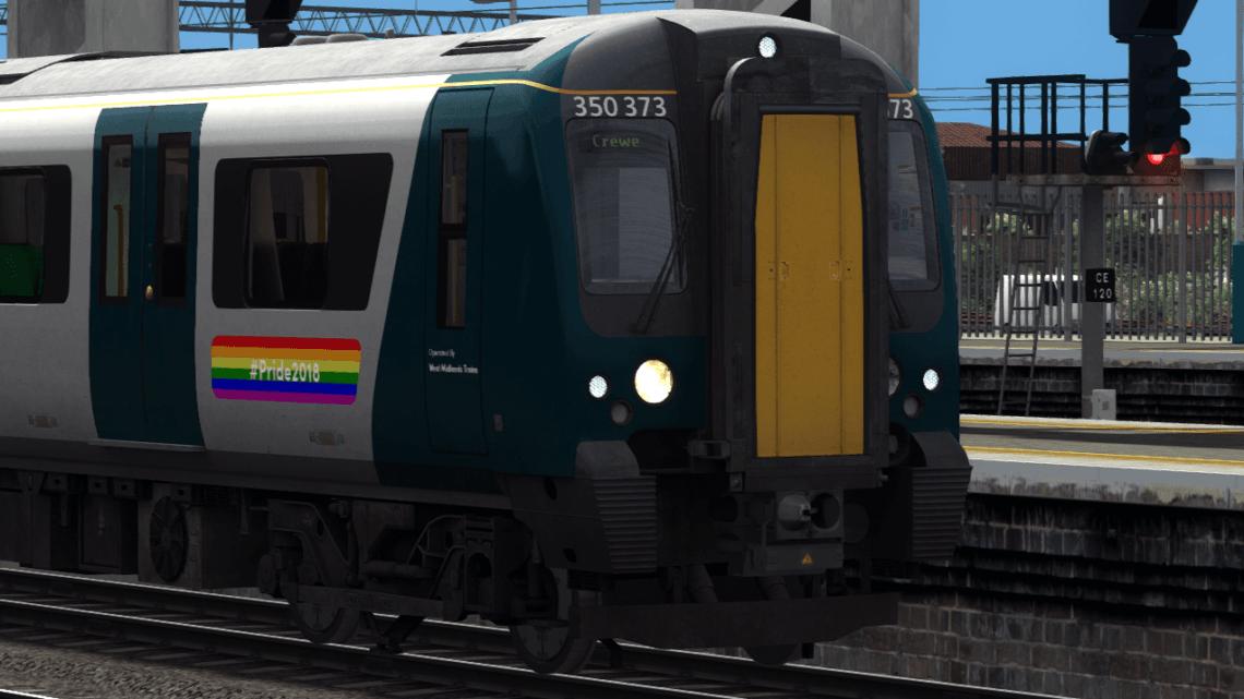 """Class 350 """"Pride"""""""