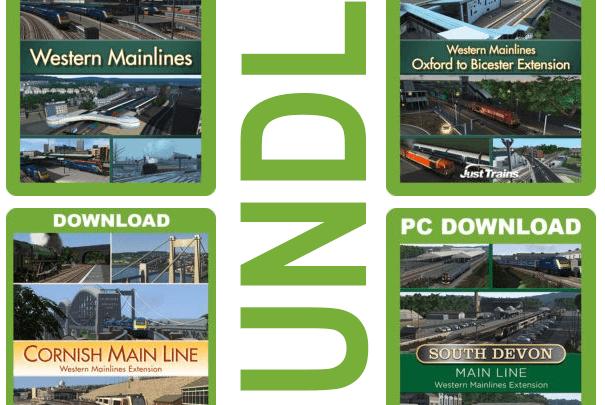 Just Trains Great Western Mainline (Western Mainlines) bundle