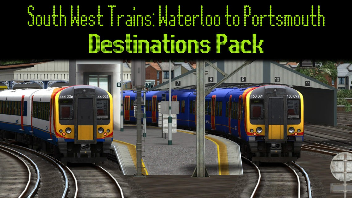 South West Trains: Waterloo to Portsmouth Destinations Pack