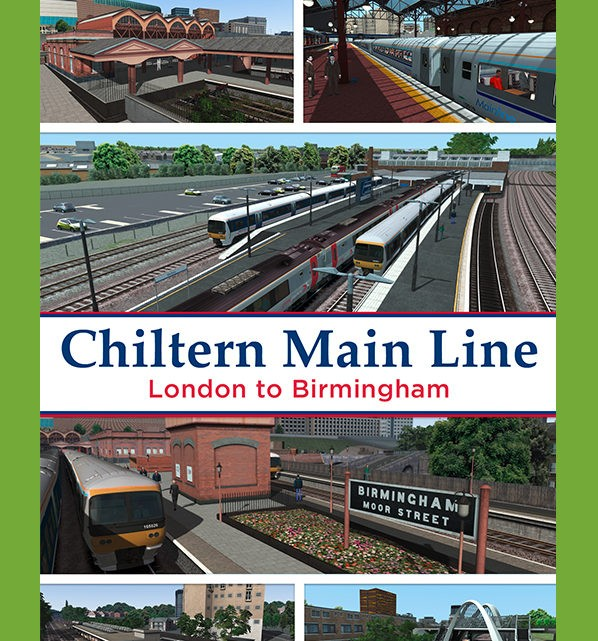 Just Trains Chiltern Mainline London Marylebone to Birmingham