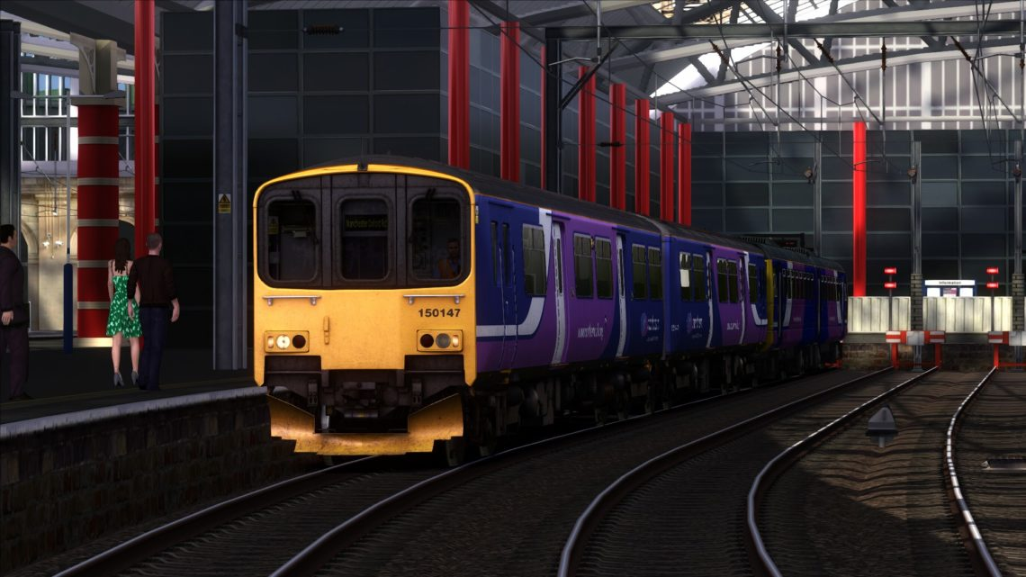 AL – 2O97 1019 Liverpool Lime Street to Manchester Oxford Road