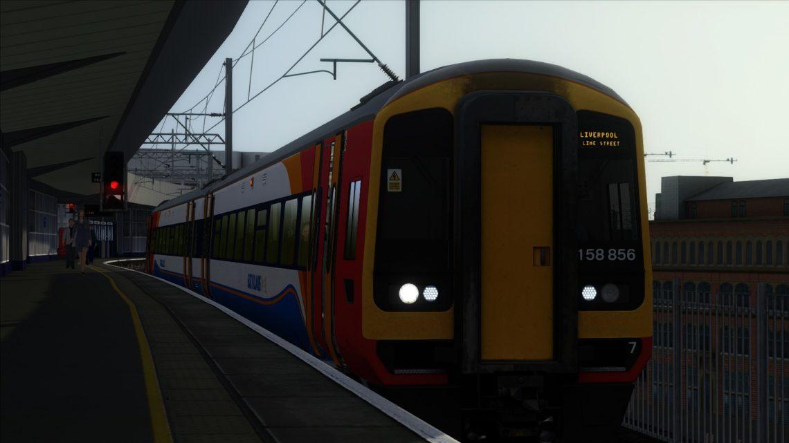 AL – 1R50 0523 Nottingham to Liverpool Lime Street