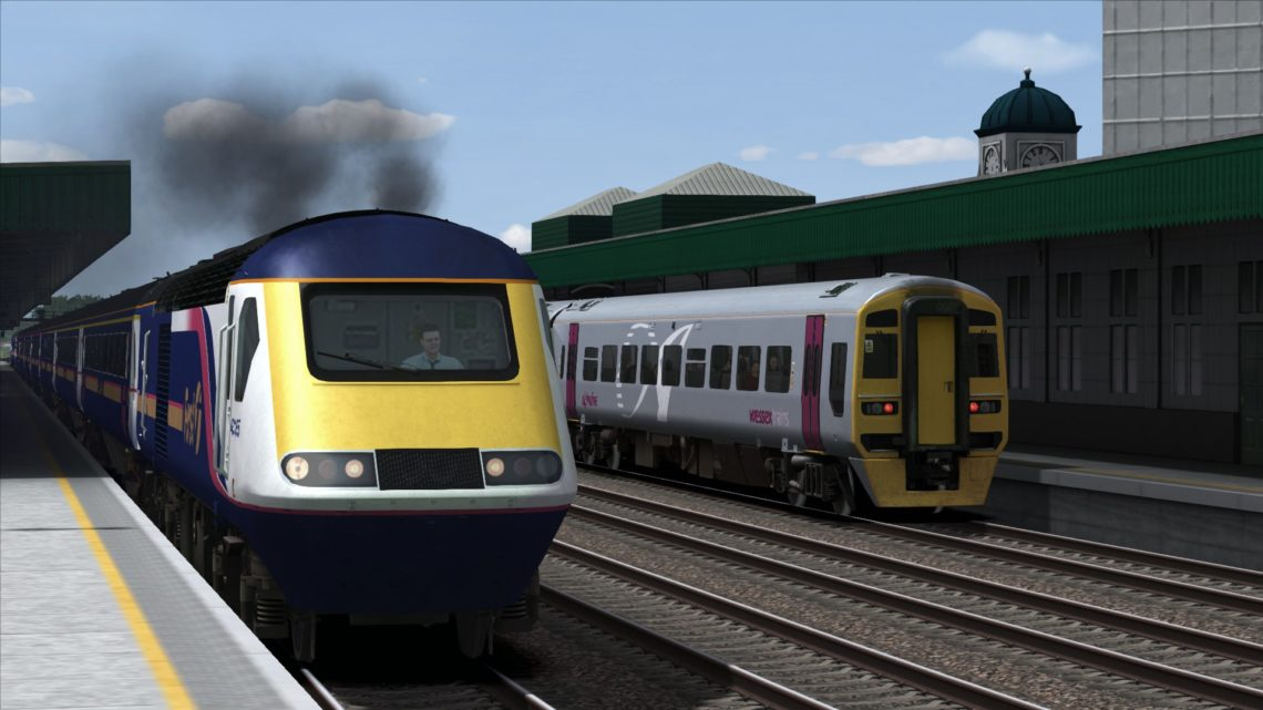 2C77 13:00 Cardiff Central – Exeter St. David's